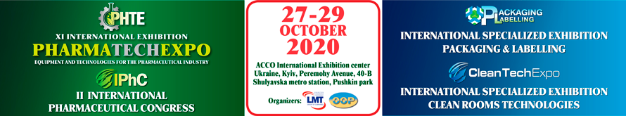 Postponement of the date of the PharmaTechExpo to 2021